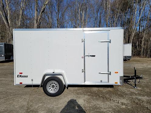 6x12 Cargo Express Round Front Barn Doors