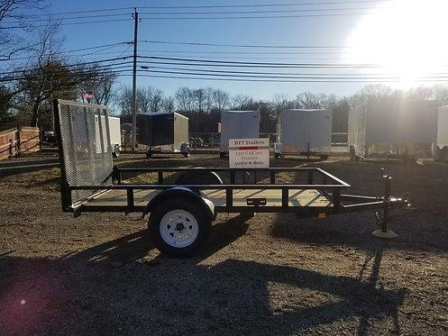 5x10 heavy duty landscape utility trailer by Currahee