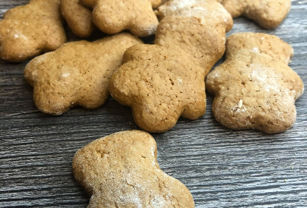 Gingerbread Bear Bite Biscuits