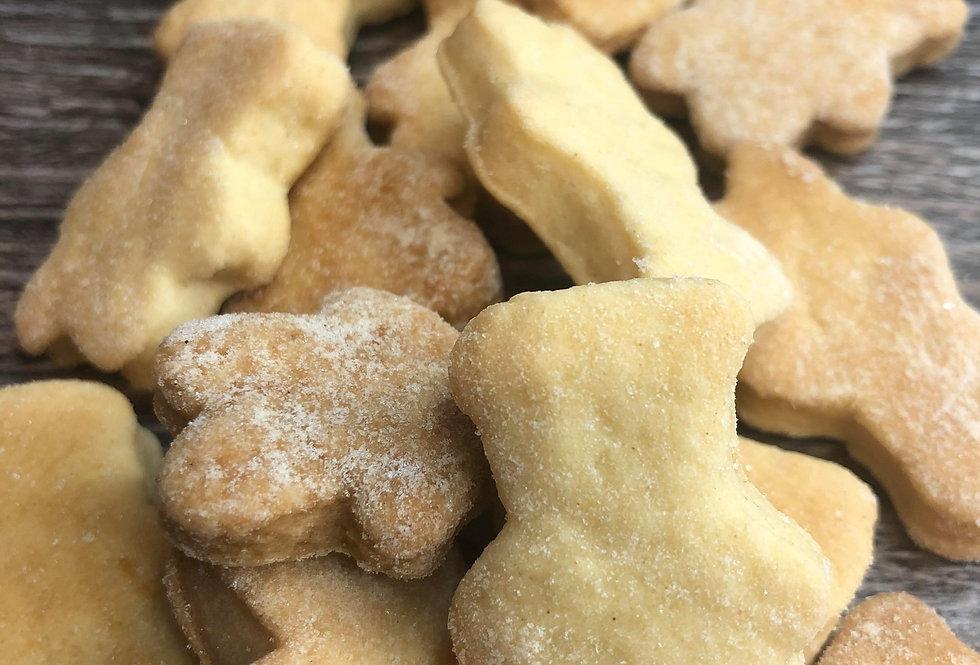 Shortbread Bear Bite Biscuits