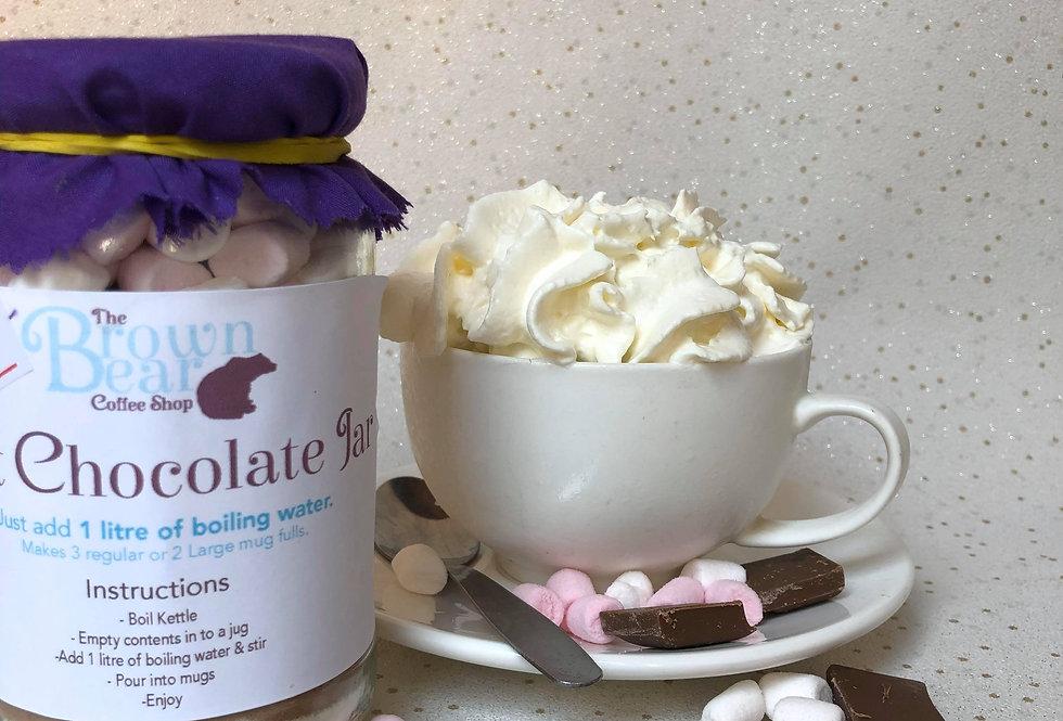 Hot Chocolate Jar