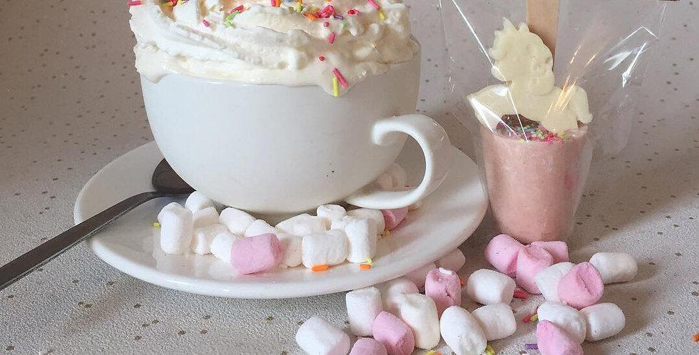 Unicorn Hot Chocolate Stirrer