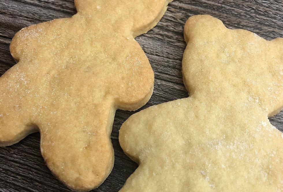 Shortbread Bear Biscuits