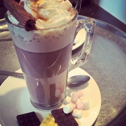 Our #brownbear #ultimate #hotchocolate h