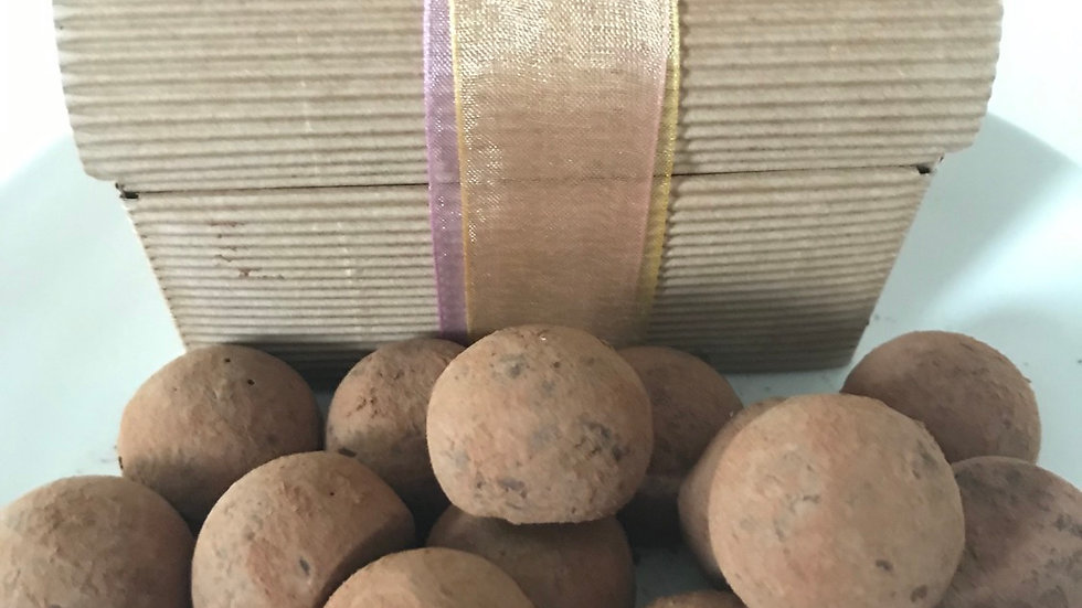 Vegan chocolate truffles (20 pieces)