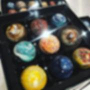 Vegan 🌱 chocolate solar system ready fo
