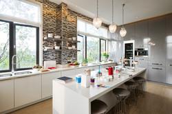 OSSO Custom Concrete Kitchen