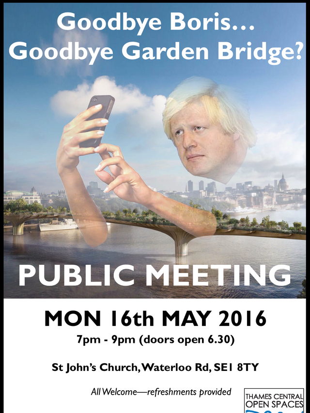 Time to tell the new mayor what we think. Join us Mon 16th May 7pm
