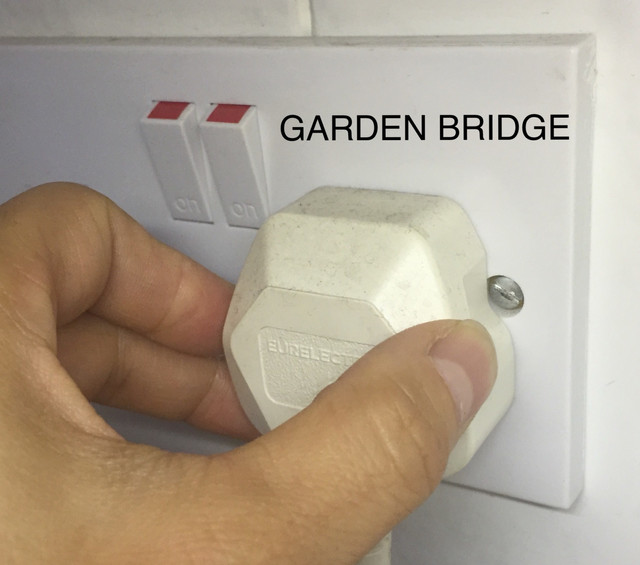 Time to pull the plug on the Garden Bridge as Charity Commission investigates further