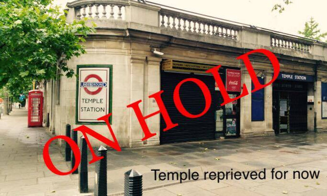 Bravo Westminster. Temple reprieved for now