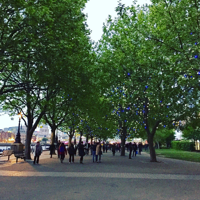 Celebrate the South Bank trees! Saturday 10th June, 4pm