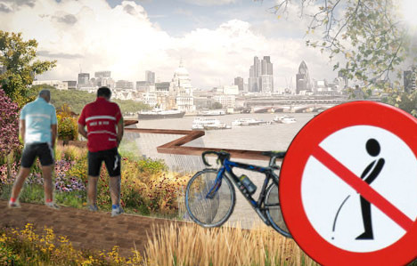 Lambeth condemns South Bank to be London's toilet