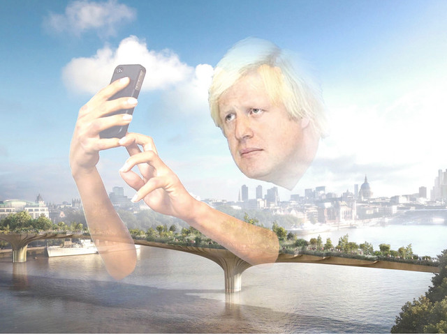 Bumbling Boris shifts blame for his failed Garden Bridge