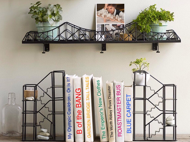 Heatherwick bridges - fussy, expensive - shelved