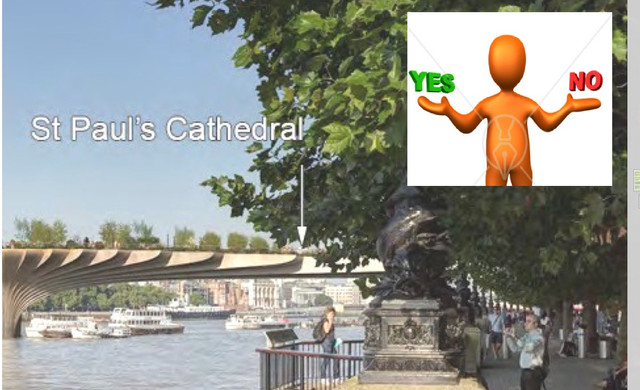 Garden Bridge – Boris Johnson says 'yes'... and 'no'