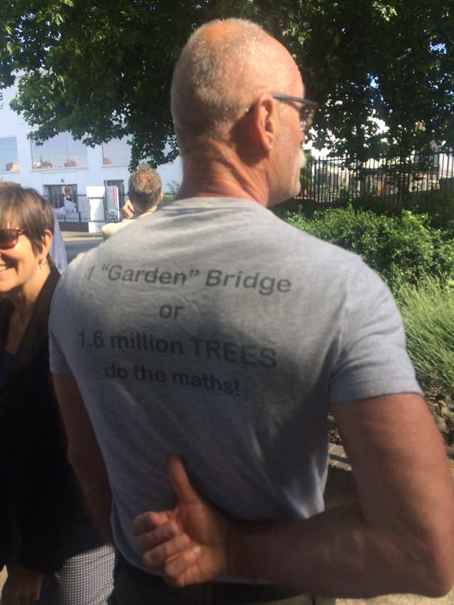 A Tree Celebration on the South Bank