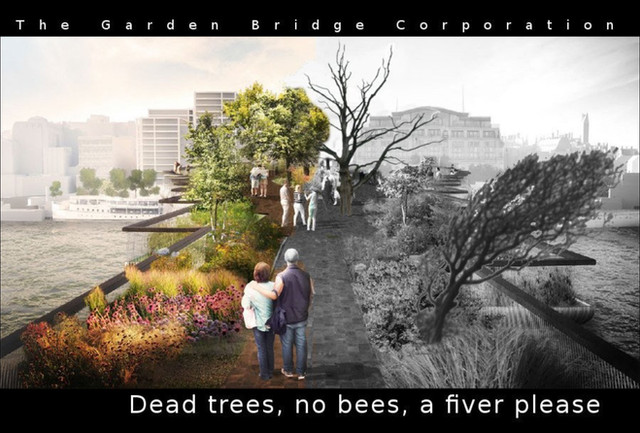 Yet another ominous setback for the troubled Garden Bridge