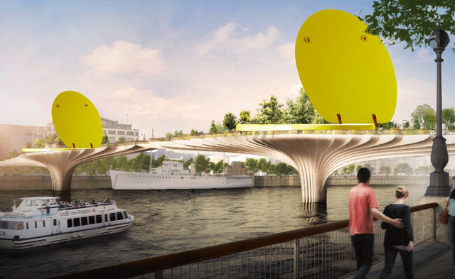 """The garden bridge will have all the elegance of a Saudi prince's gilded loo..."""""""