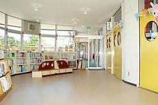 星ヶ峯幼稚園の絵本コーナー
