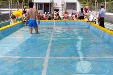 星ヶ峯幼稚園 屋上プール