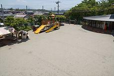 星ヶ峯幼稚園 園庭