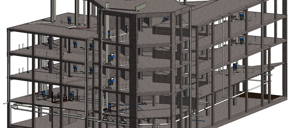 A little bit more about BIM. Everything has been analysed in details. This is real engineering.