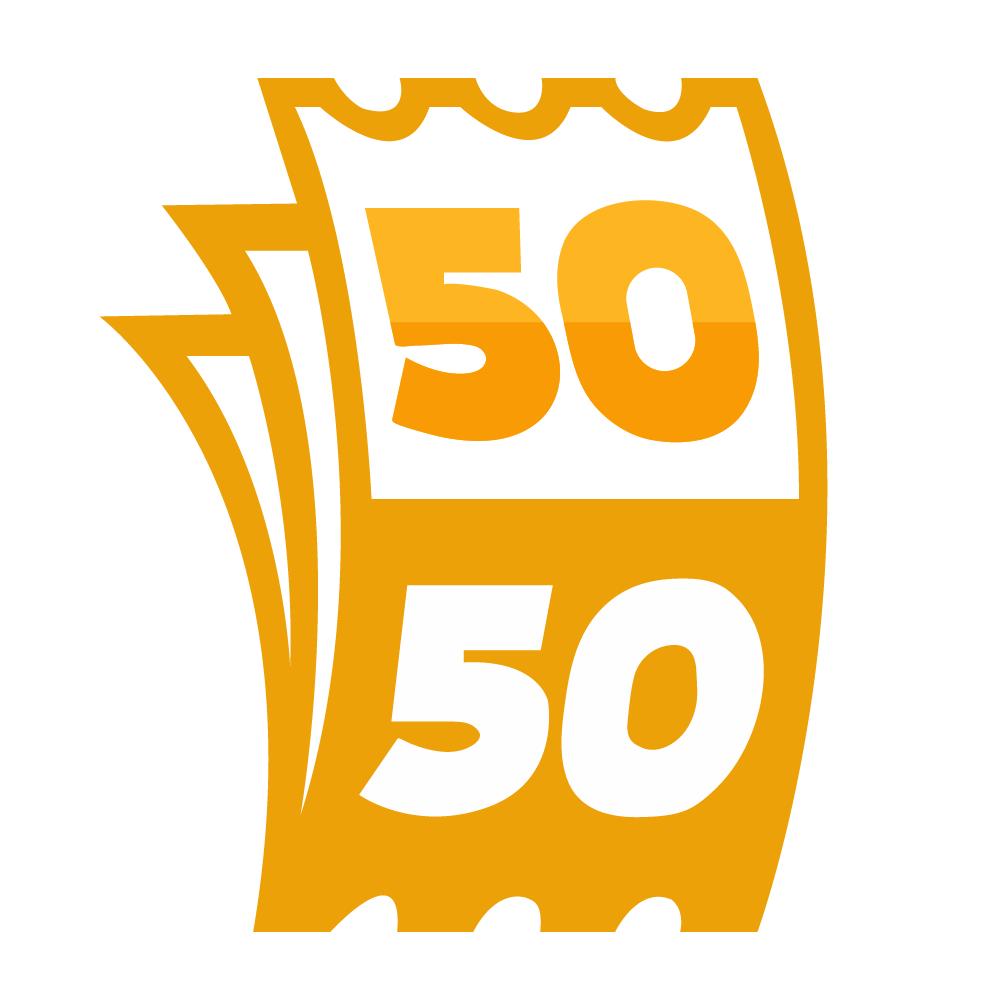Charity 5050 Raffle