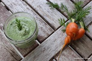 Carrot Top Creamy Pesto