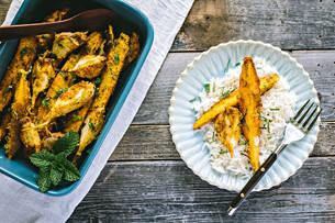 Tandoori Roasted Carrots & Turnips