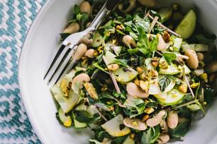 Chopped Cucumber Summer Salad