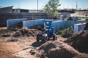Restarting our Compost System & Transplanting Kale