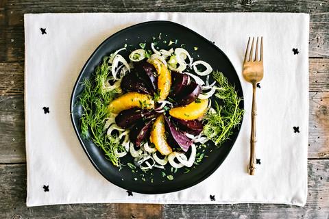 Beet, Orange, & Fennel Salad