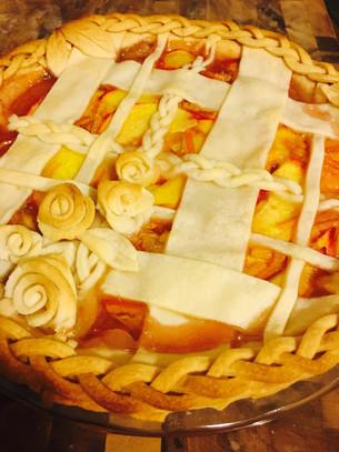 Happy Hour Peach Pie