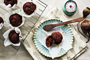 Cocoa Beet Muffins