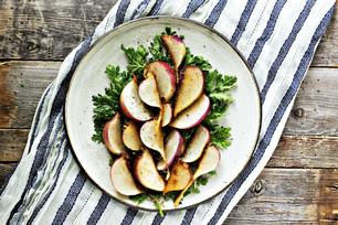 Maple Braised Turnips