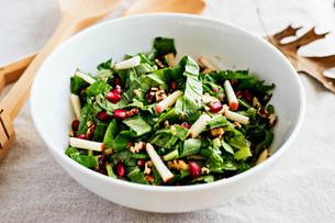 Tendergreen Salad with Maple Dijon Vinaigrette