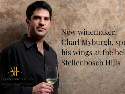 New winemaker spreads his wings at the helm of Stellenbosch Hills