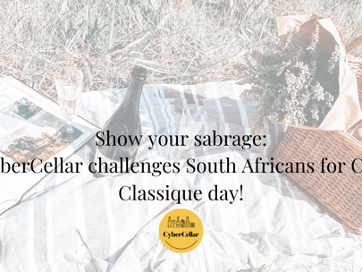 Show your sabrage: CyberCellar challenges South Africans for Cap Classique day!