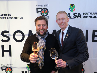 Wikus Human wins Best Sommelier in South Africa, 2021, in partnership with Stellenbosch Wine Routes