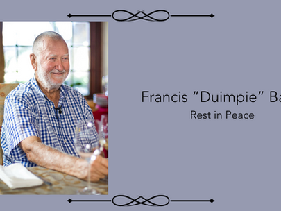 SA WINE INDUSTRY LOSES GIANT AND MENTOR IN DUIMPIE BAYLY