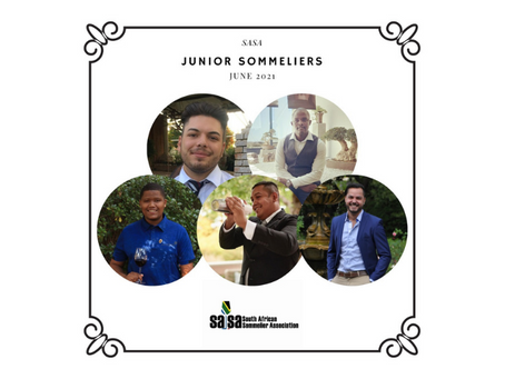 South Africa's Newest Junior Sommeliers