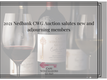 2021 Nedbank CWG Auction salutes new and adjourning members