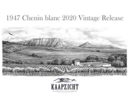 Kaapzicht 1947 Chenin 2020 Vintage Release