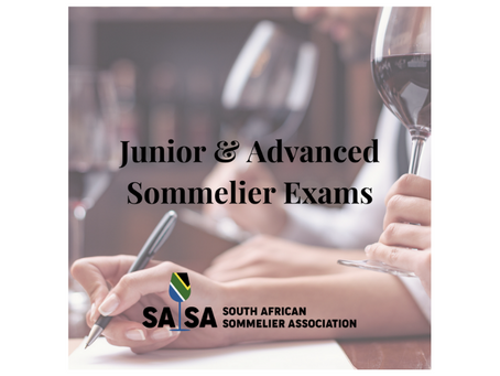 SASA Junior and Advanced Sommelier Exams in Cape Town and Johannesburg | 11-12 October