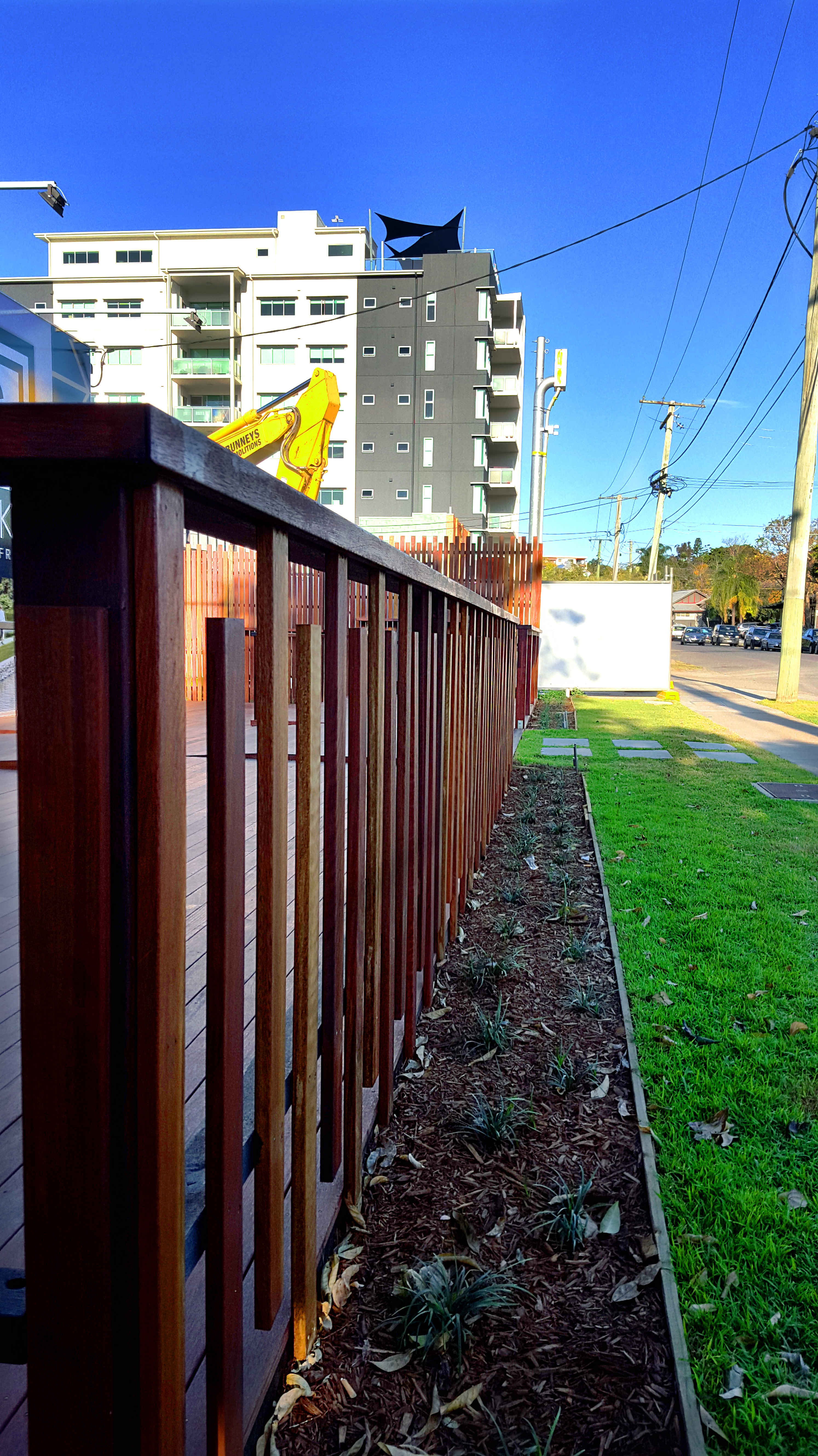 architectual Balustrade spotted gum