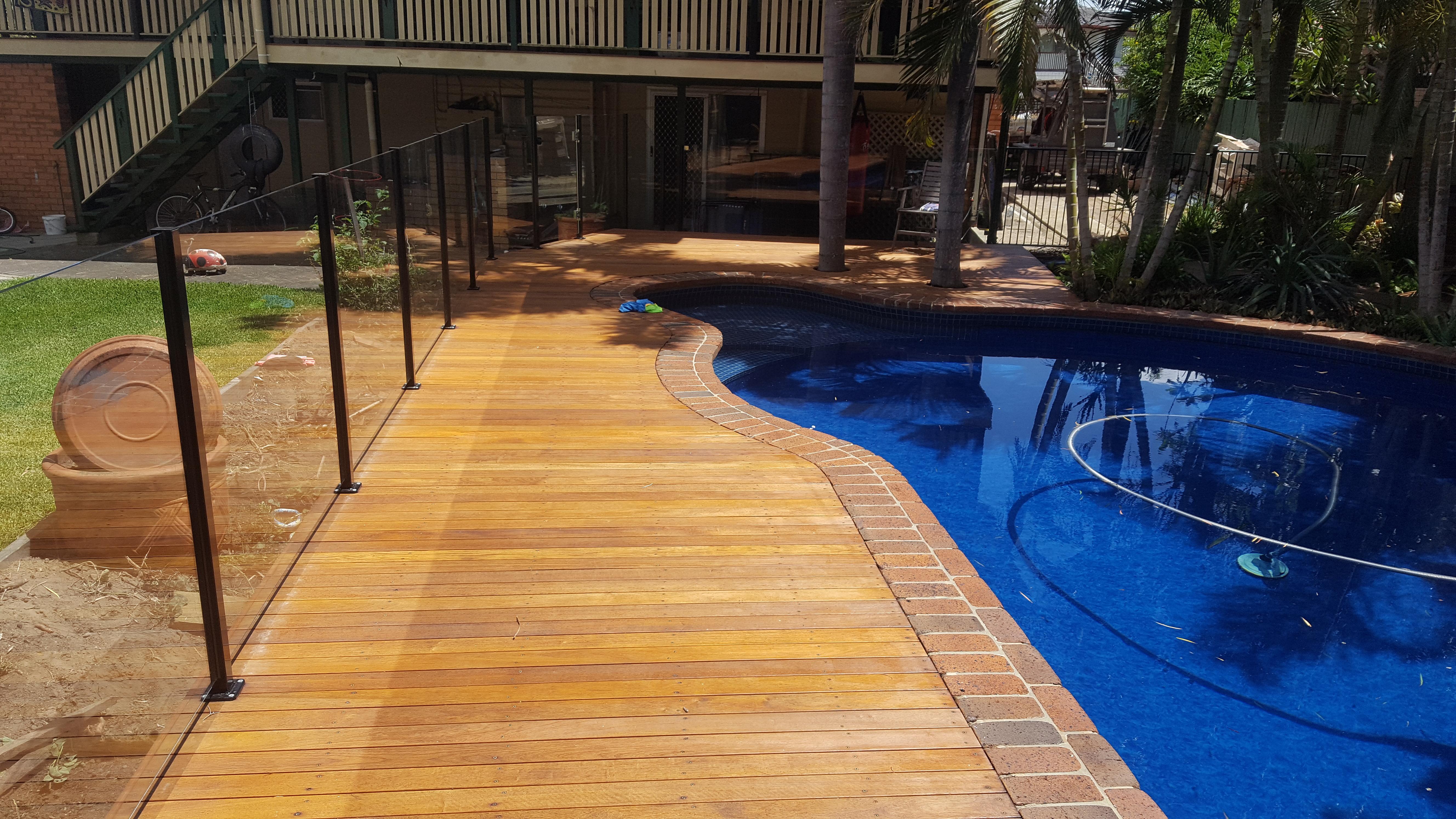 Pool side deck birkdale
