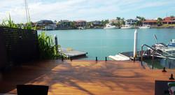 Kwila deck Raby Bay