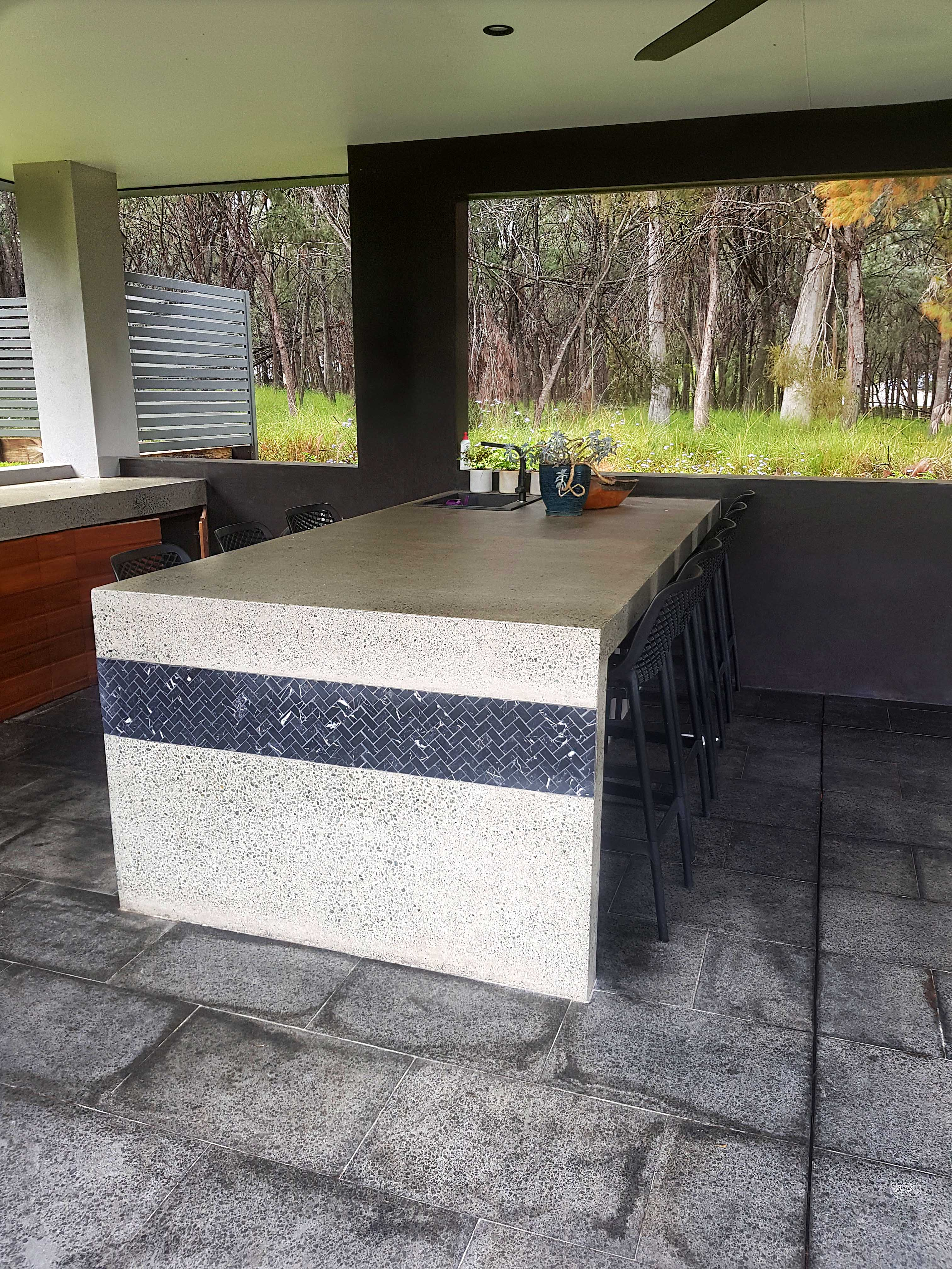 Polished Concrete table thornlands