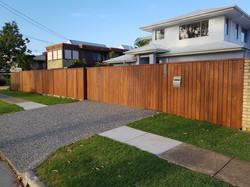 Hardwood fence wynnum