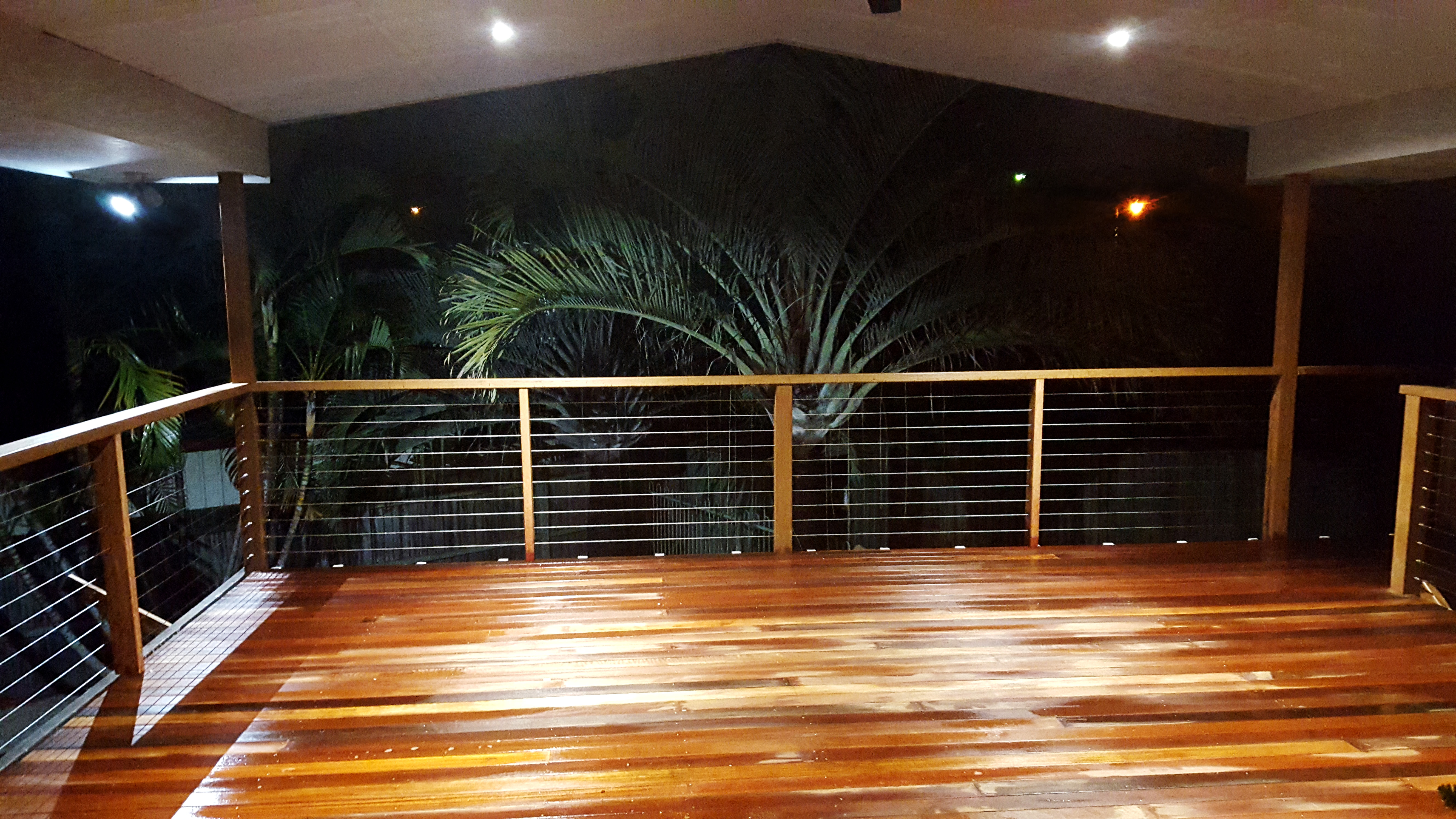 Hardwood deck wellington Point